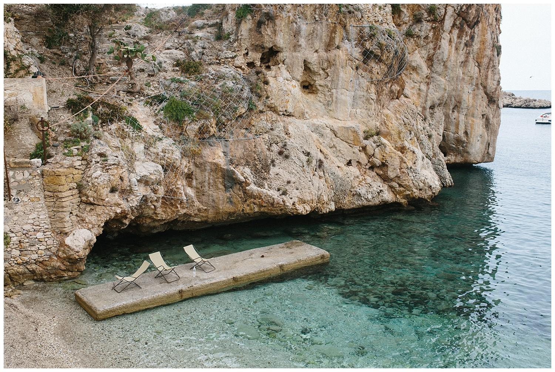 tonnara di scopello spiaggia privata