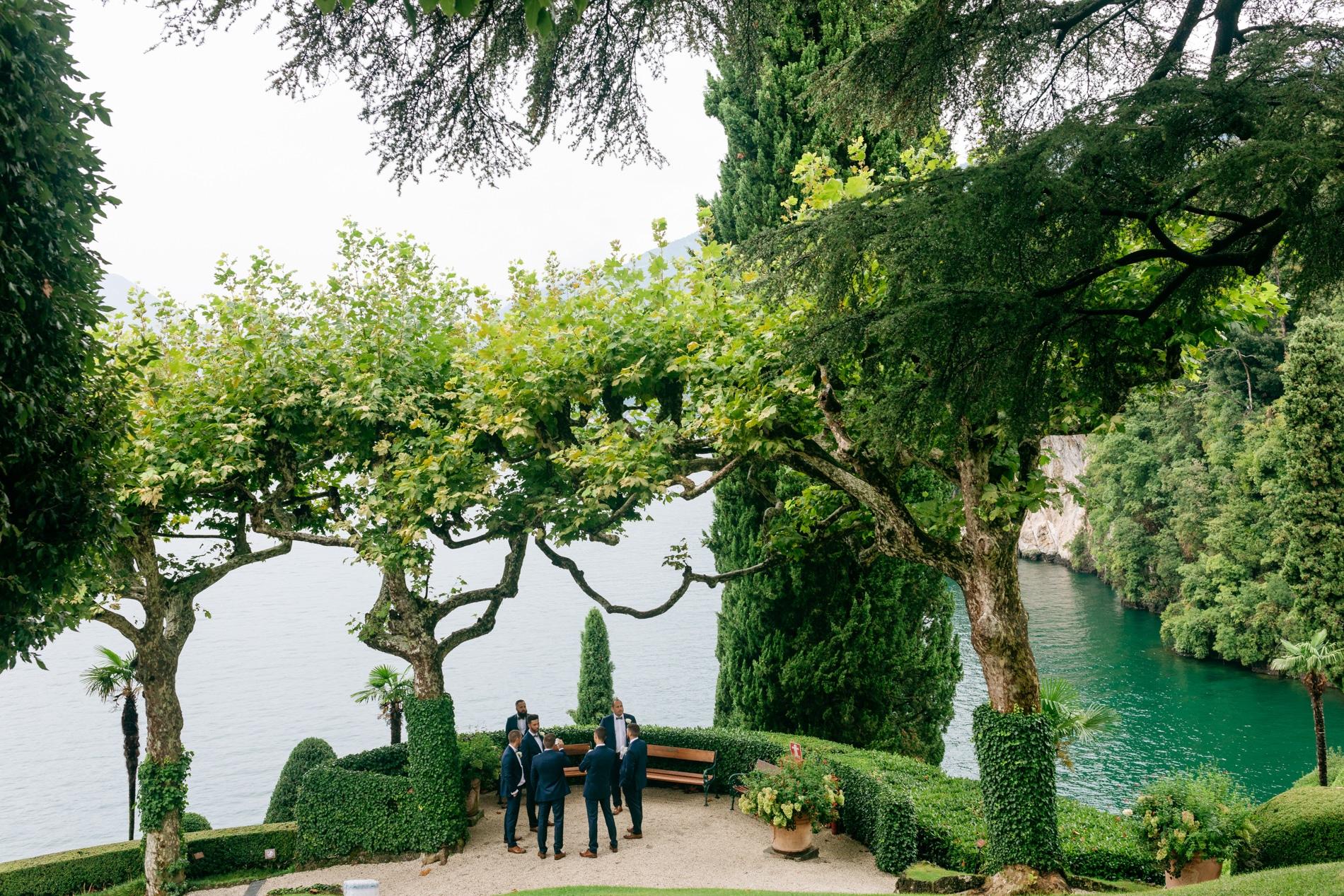 celebrare un matrimonio a Villa Balbianello sul lago di como